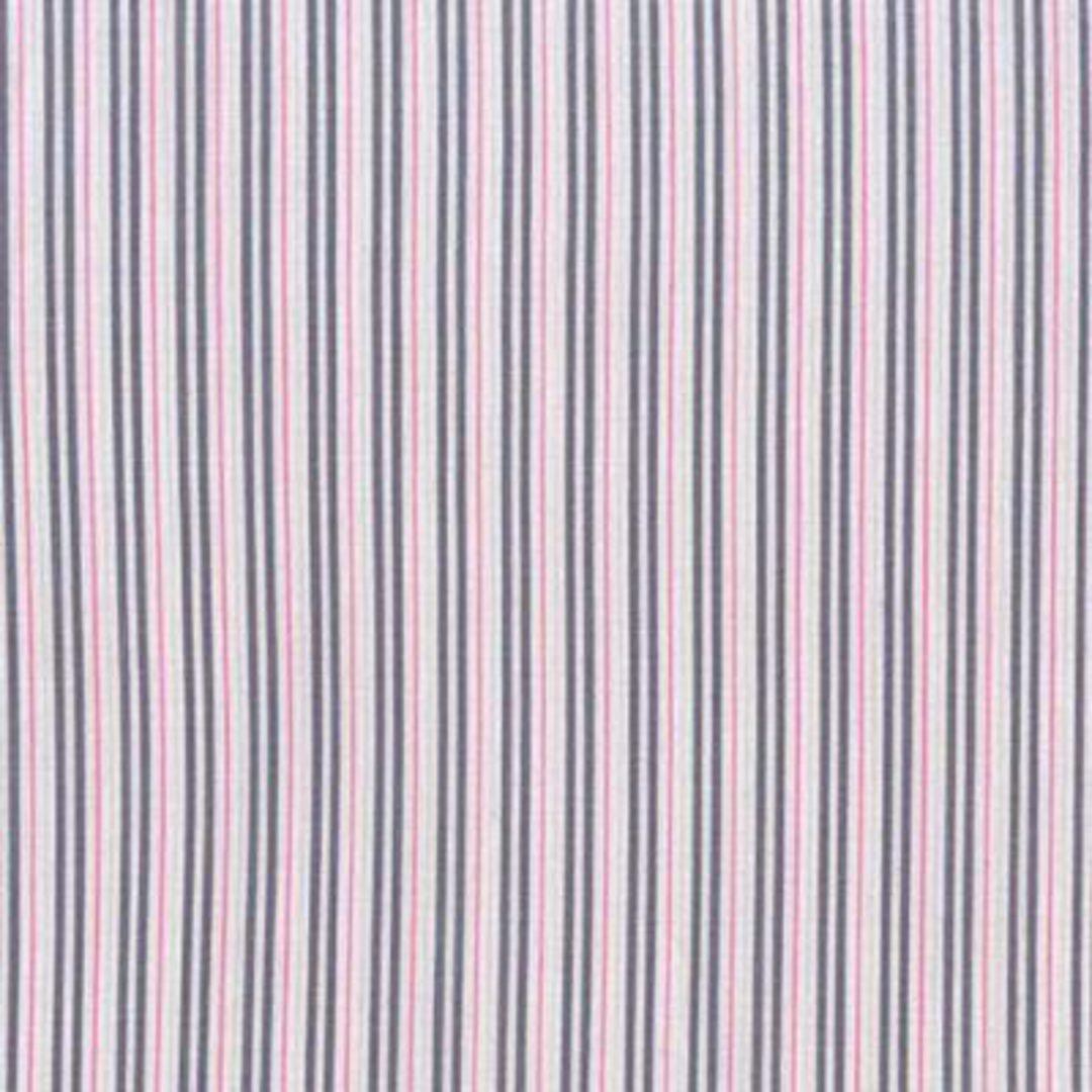 Fabric-Ticking Away - Pink image 0