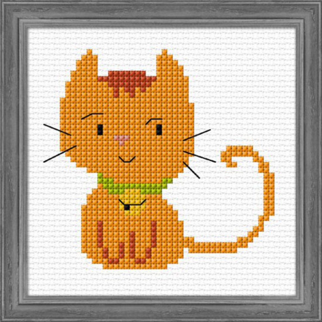 Kids craft- Ginger Kitten image 0