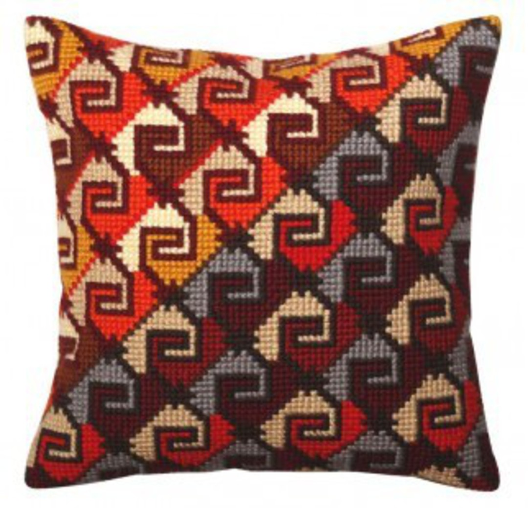 Tapestry Cushion Kit- Peruvian Ornament 5368 image 0