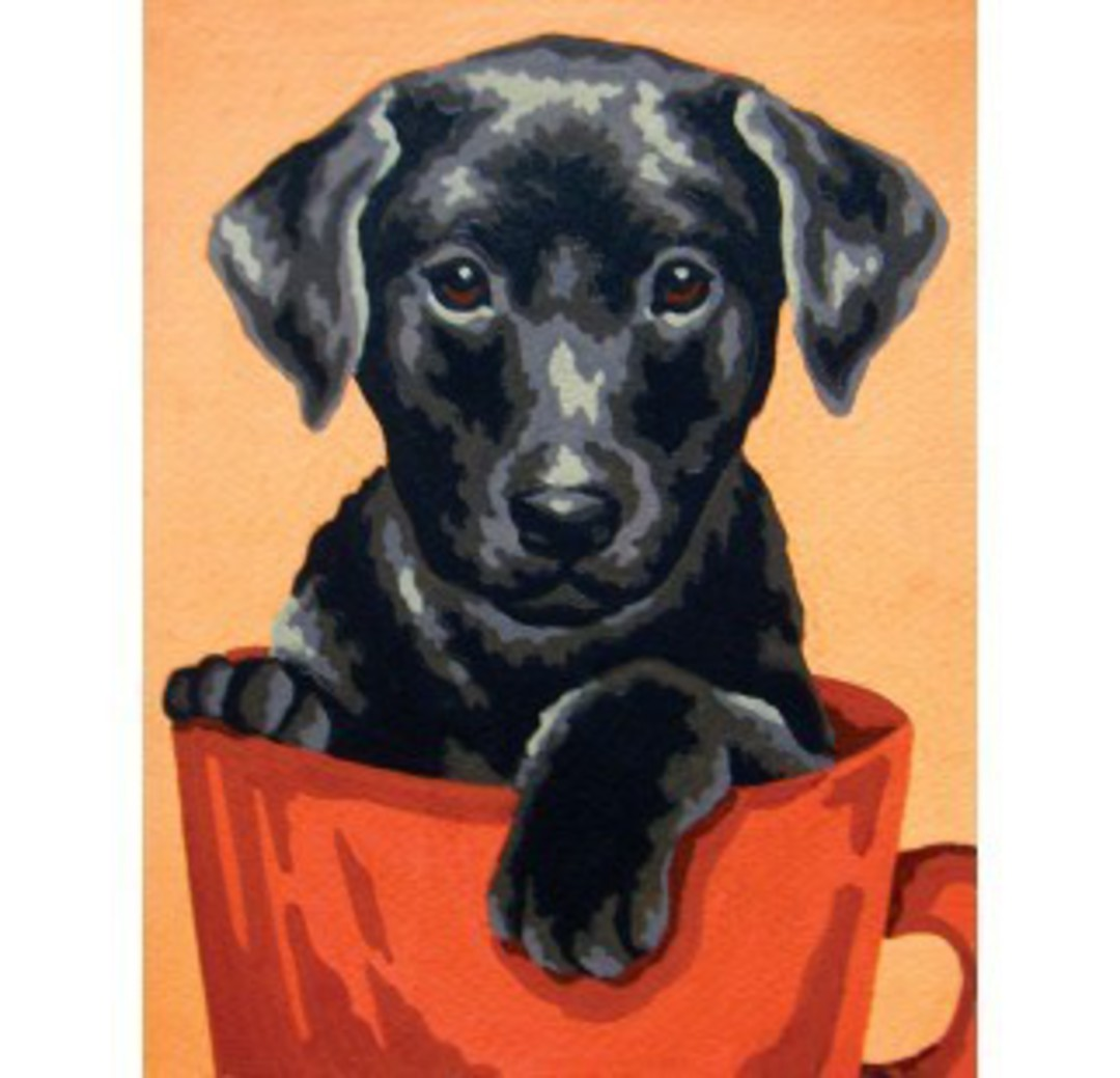 Tapestry Canvas Puppy image 0
