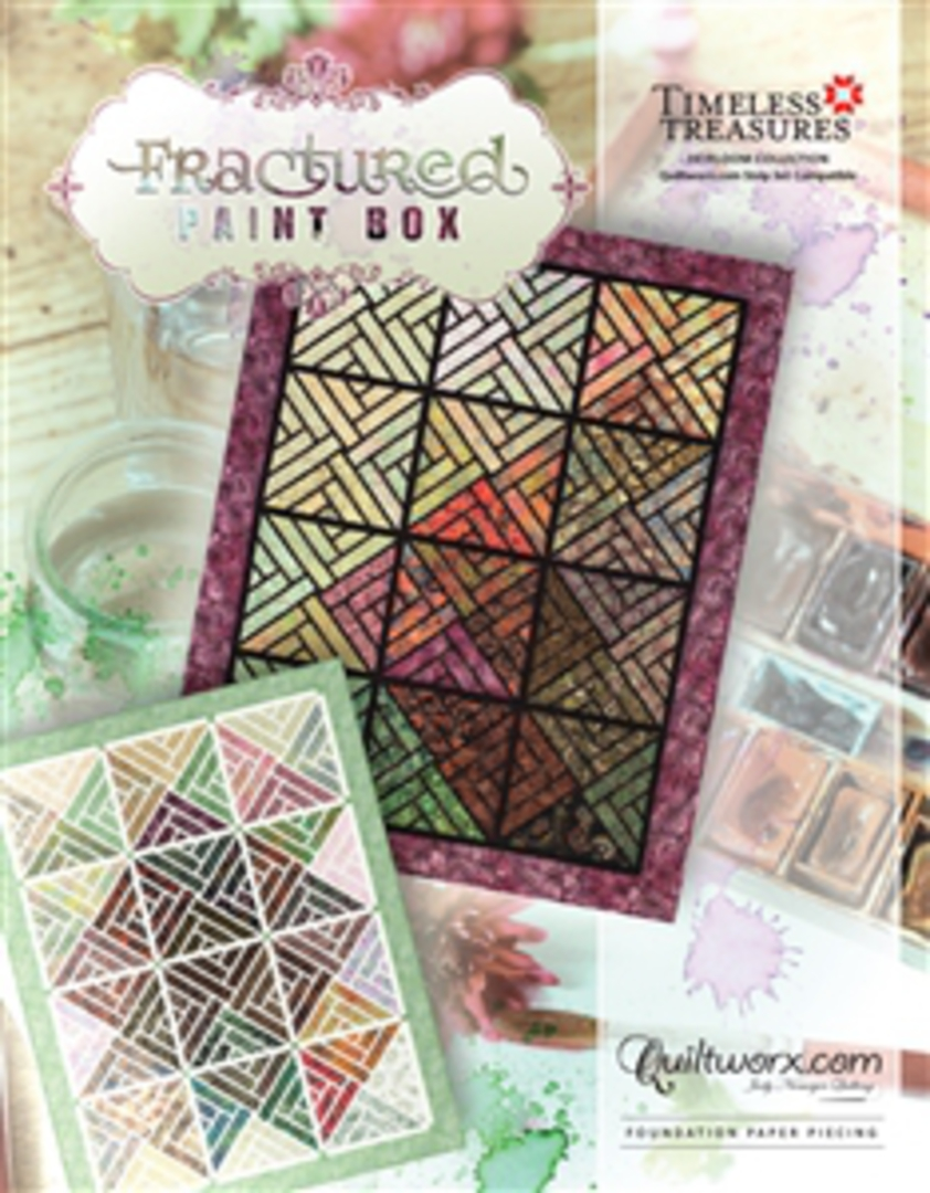 Quiltworx Fractured Paintbox image 0
