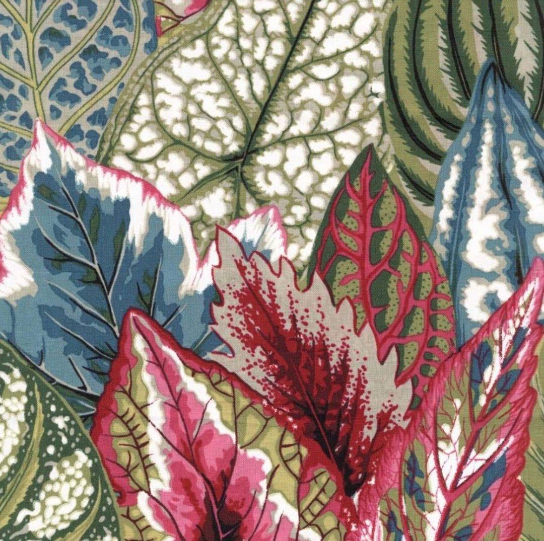 Fabric-Kaffe Coleus - green image 0