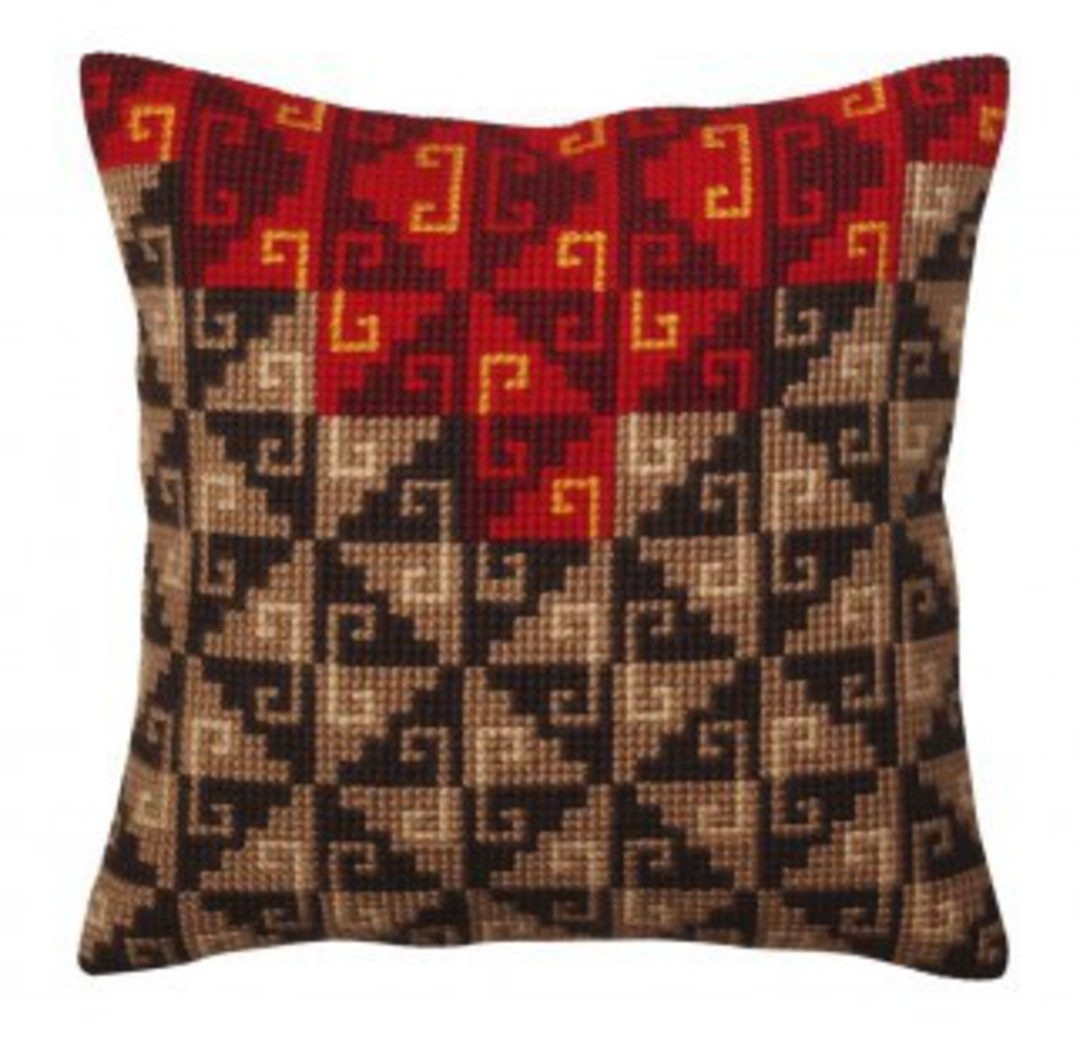 Tapestry Cushion Kit- Peruvian Ornament 5369 image 0
