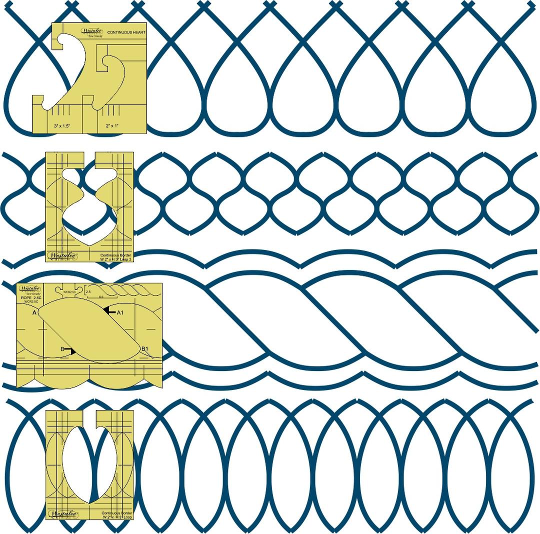 Westalee Sampler Border Set image 0