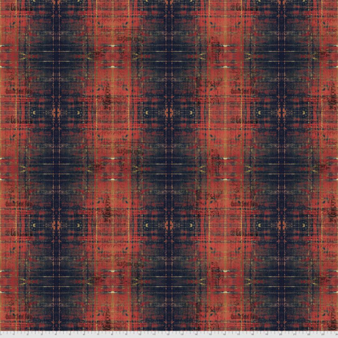Fabric- Tim Holtz- Abandoned2 . Rust image 0