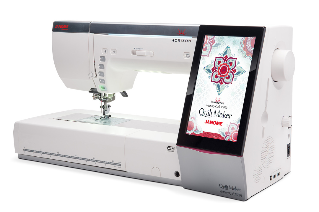 Janome Memory Craft 15000 QUILTMAKER image 0