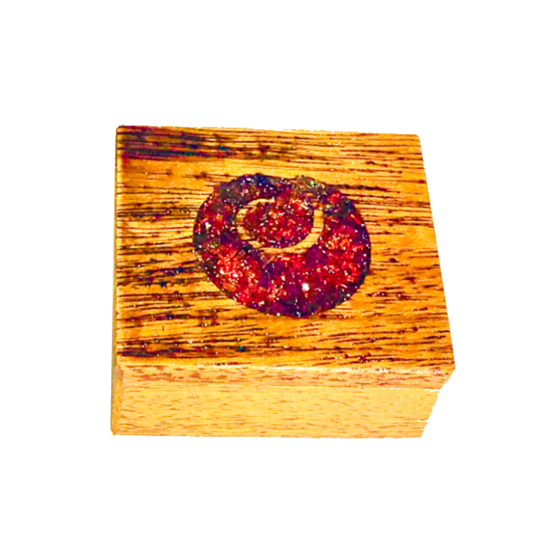 Hardwood Koru Jewellery Box image 0