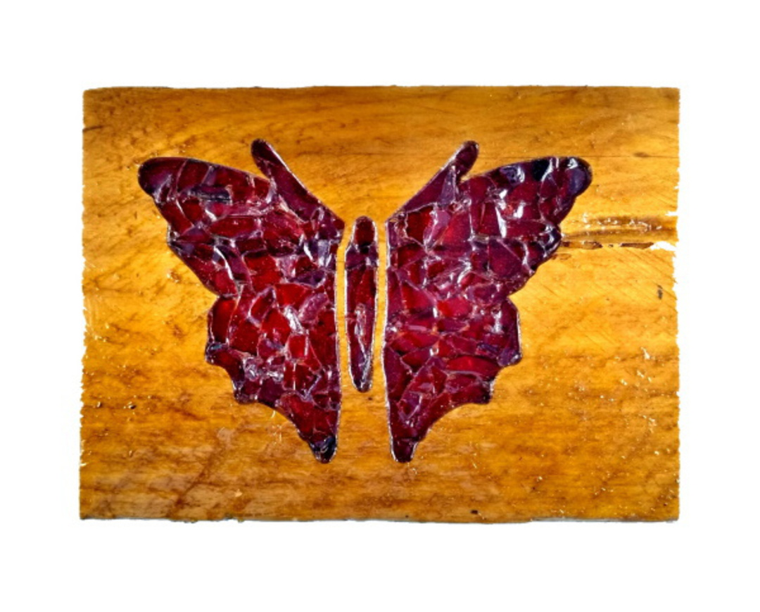 Macrocarpa Red Butterfly image 0