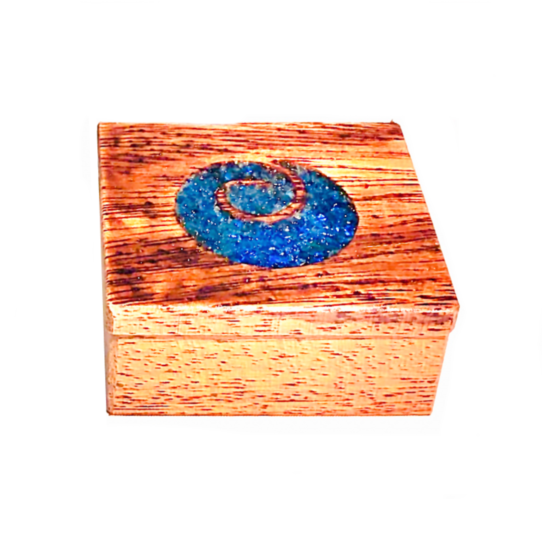 Hardwood Koru Jewellery Box image 1