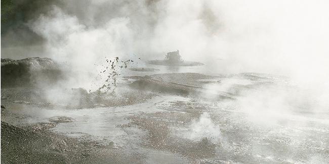 Geyser et baim de boue à Rotorua