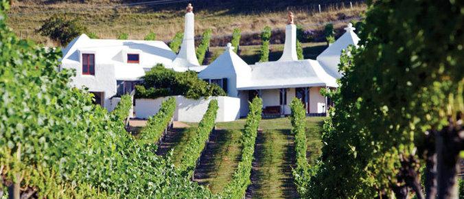 Les vignobles de Napier, Hawkes Bay - Nouvelle Zélande