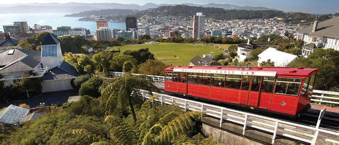 Wellington, la capitale de Nouvelle Zélande
