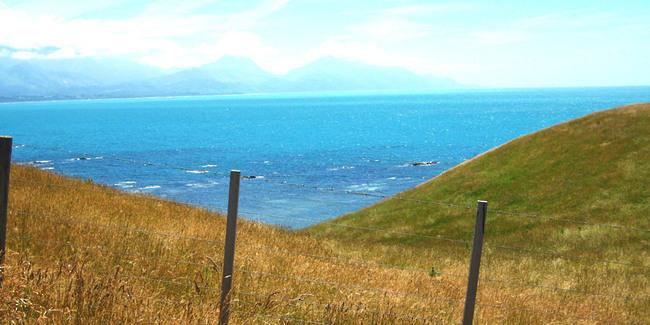 Vue Ocean Kaikoura Nouvelle Zélande