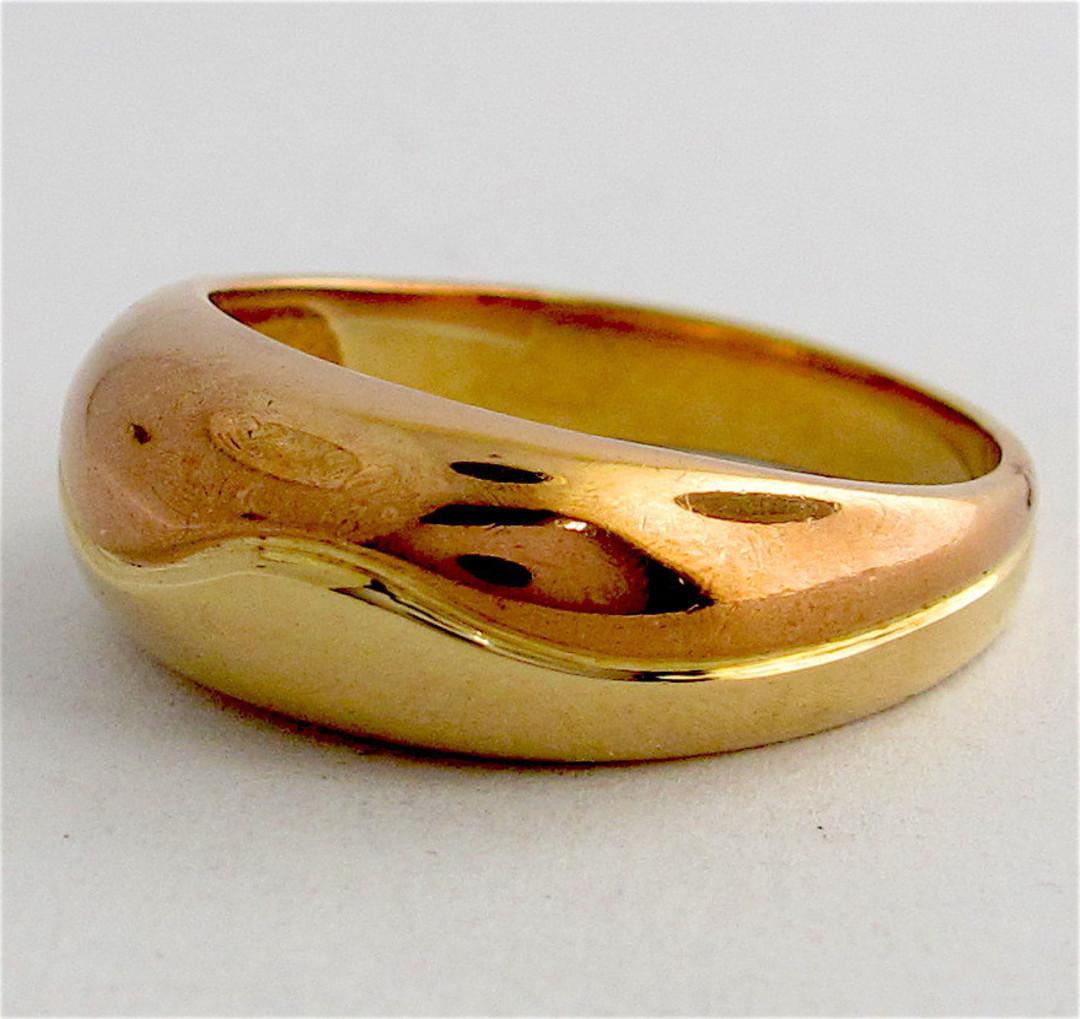 9ct bi-tone dress ring image 0