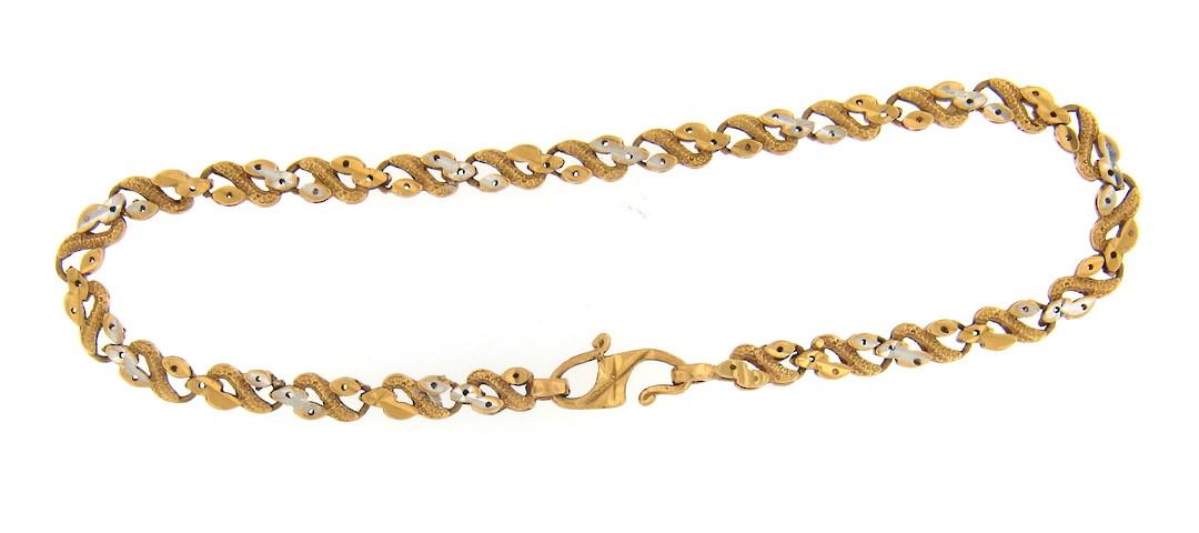 22ct yellow gold fancy bracelet image 0