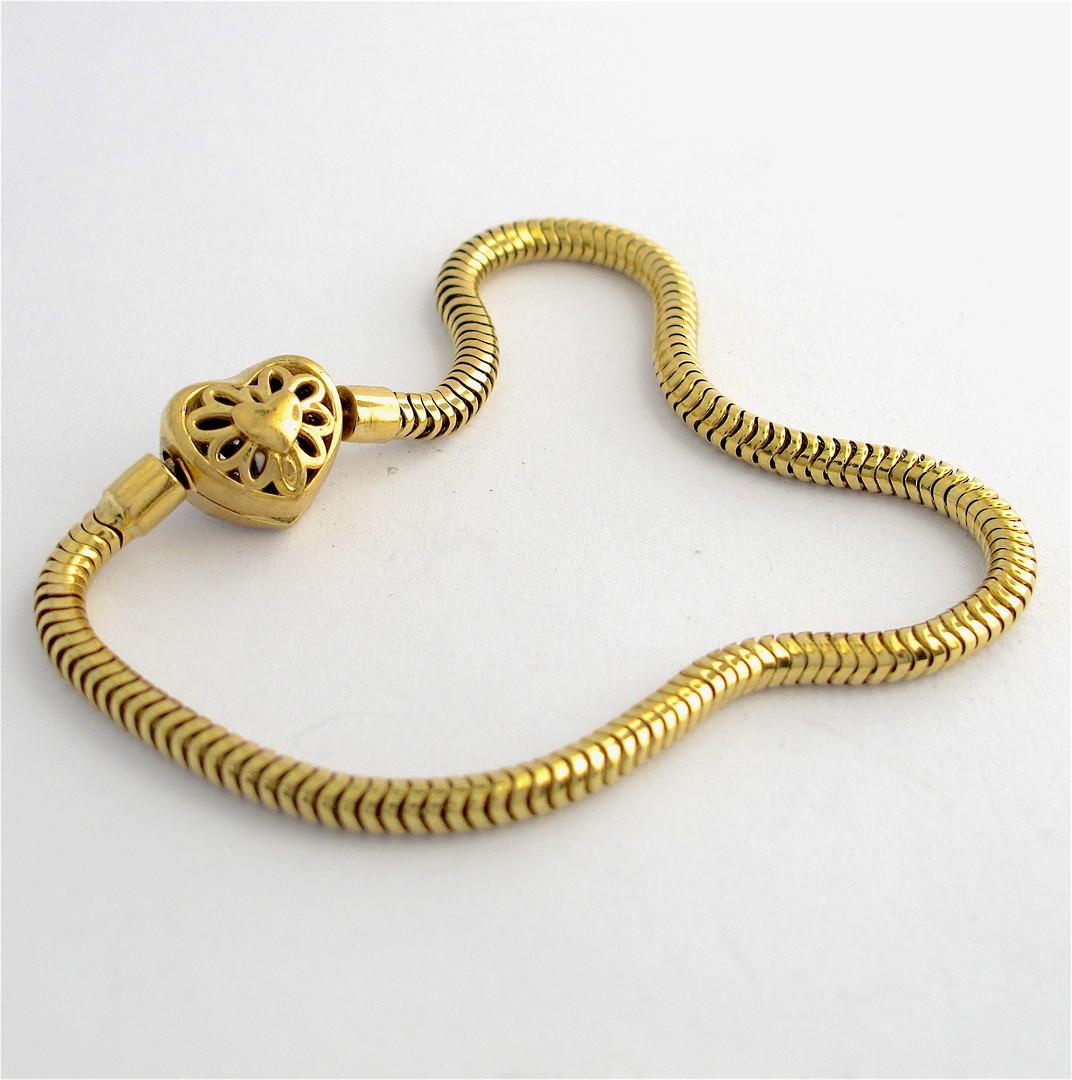 10ct yellow and white gold Michael Hill diamond set charm bracelet image 1