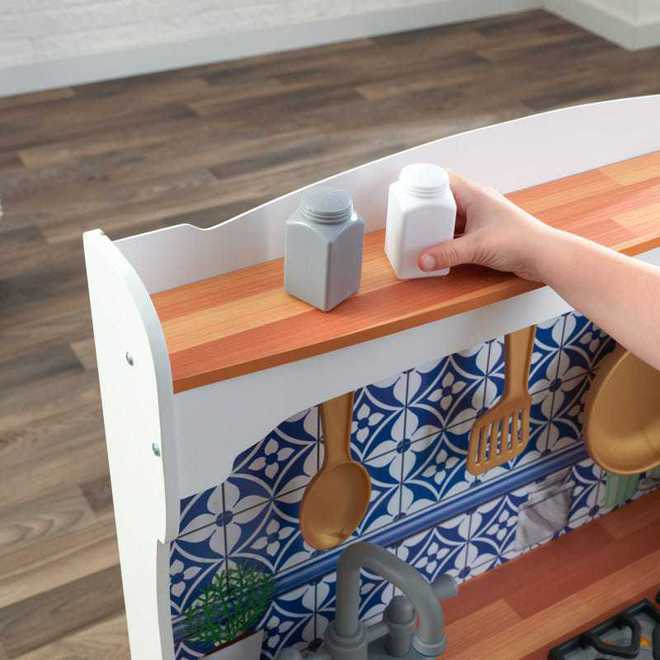 KidKraft Mosaic Magnetic Kitchen - Free NZ Delivery - Pre-order now from our shipment due early May image 6