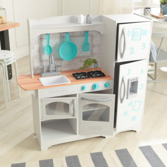 KidKraft Countryside Play Kitchen - Free Delivery - Pre Orders accepted from our shipment due 9th November image 0