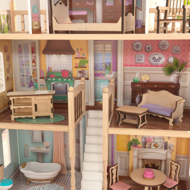 Kidkraft Charlotte Dollhouse - FREE DELIVERY - Pre-order now from our next shipment due here 23rd September image 6