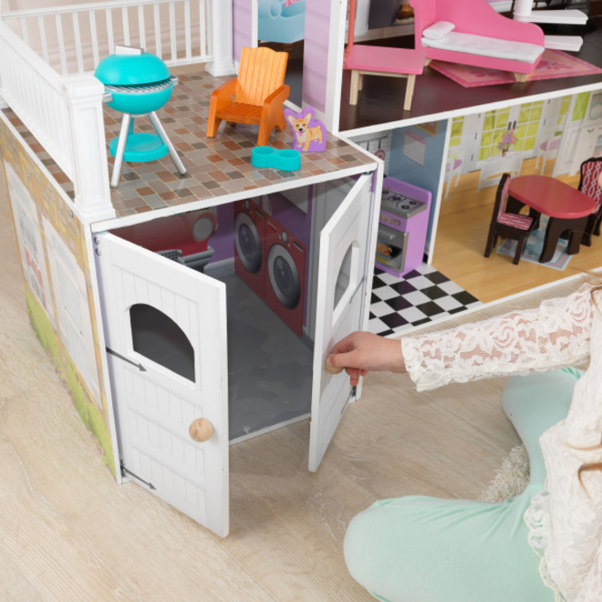 KidKraft Grand Estate Dollhouse - PICK-UP ONLY - Pre-orders accepted from our shipment due early May image 8
