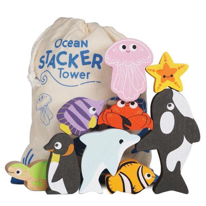 Le Toy Van Ocean Stacker image 0