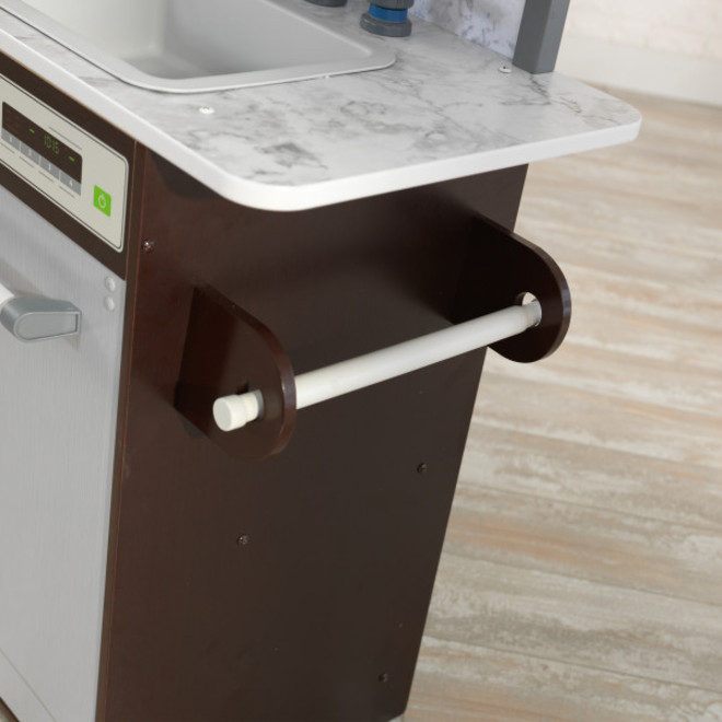 KidKraft Uptown Elite Espresso Play Kitchen - FREE DELIVERY - Pre Orders accepted from our shipment due end October image 3