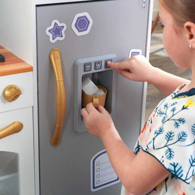 KidKraft Mosaic Magnetic Kitchen - Free NZ Delivery - Pre-order now from our shipment due early May image 5