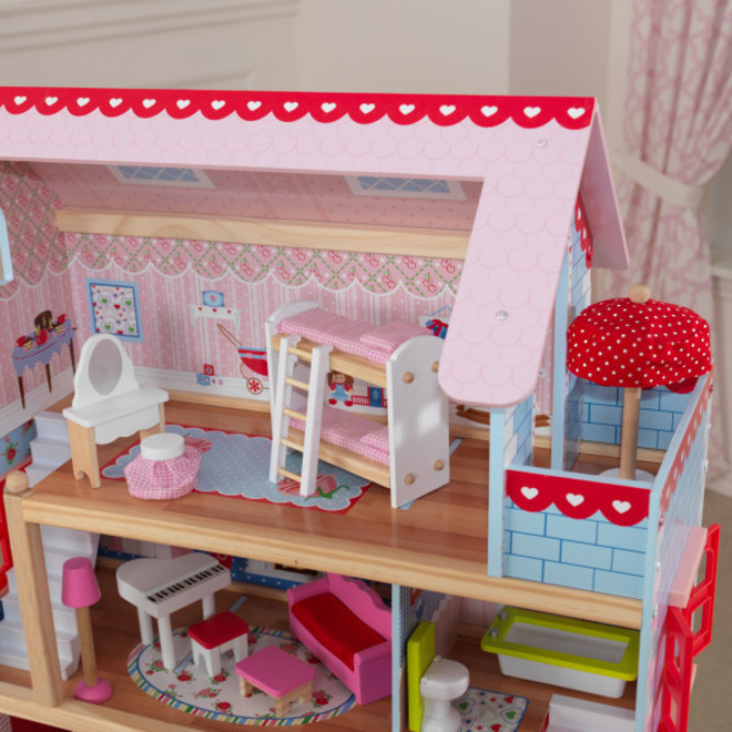 KidKraft Chelsea Doll Cottage - FREE DELIVERY - Pre-order now for late June delivery image 2