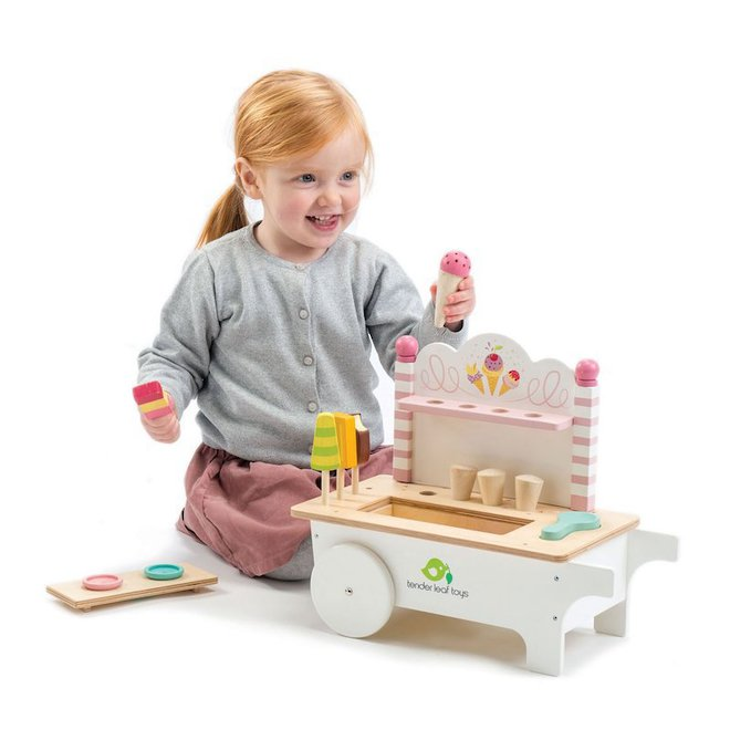 Tender Leaf Toys Ice Cream Cart - FREE DELIVERY image 1