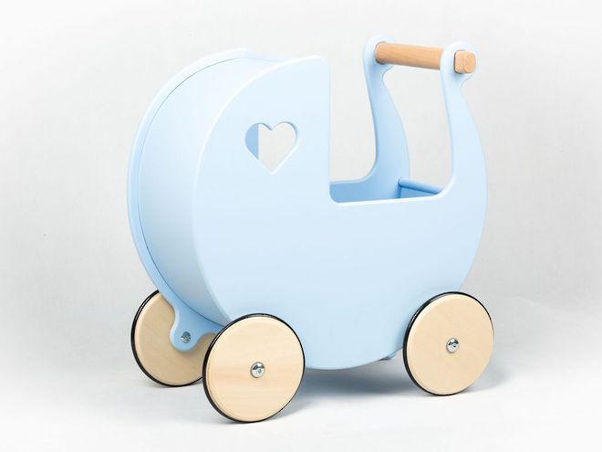 Moover Dolls Pram Pale Blue - Free Delivery - Dispatched from NZ supplier in 1 - 2 days time image 0