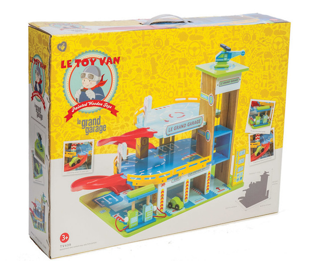 Le Toy Van Le Grand Garage - FREE DELIVERY image 3
