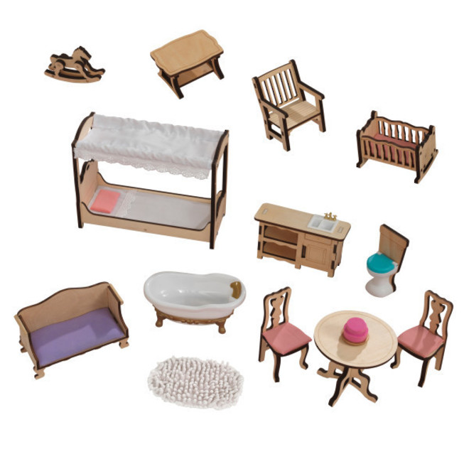 Kidkraft Charlotte Dollhouse - FREE DELIVERY - Pre-order now from our next shipment due here 23rd September image 3