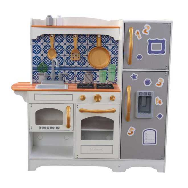 KidKraft Mosaic Magnetic Kitchen - Free NZ Delivery - Pre-order now from our shipment due early May image 2