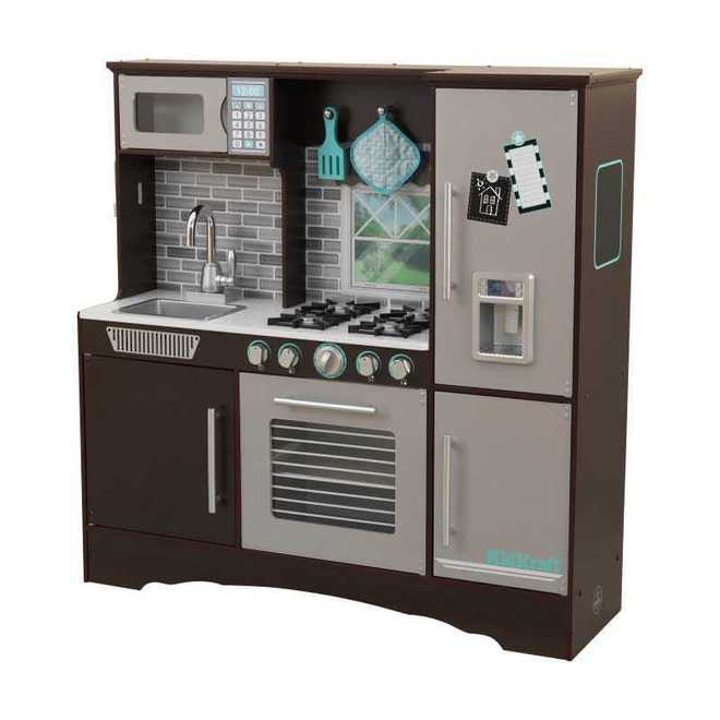 KidKraft Culinary Play Kitchen Espresso - FREE DELIVERY image 1