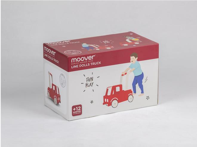 Moover Red Truck Walker image 1