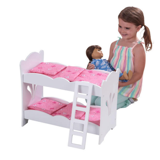 KidKraft Lil Dolls Bunk Bed - Free NZ delivery image 0