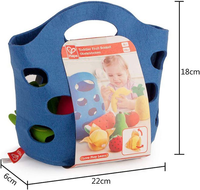 Hape Toddler Fruit Basket image 3