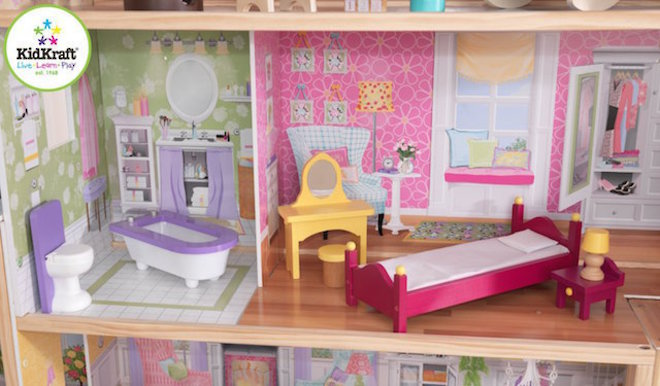 KidKraft Majestic Mansion Dollhouse - FREE DELIVERY - Pre-order now for late June arrival image 2