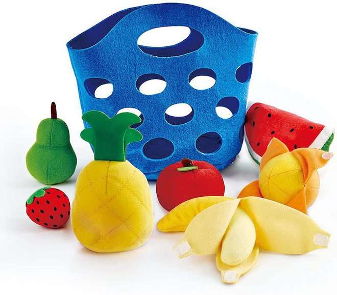 Hape Toddler Fruit Basket image 0