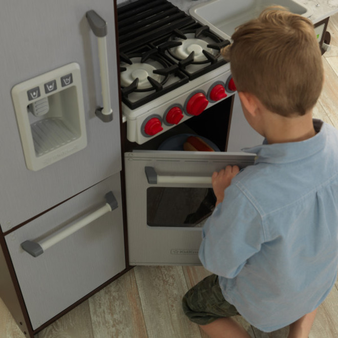 KidKraft Uptown Elite Espresso Play Kitchen - FREE DELIVERY - Pre Orders accepted from our shipment due end October image 1