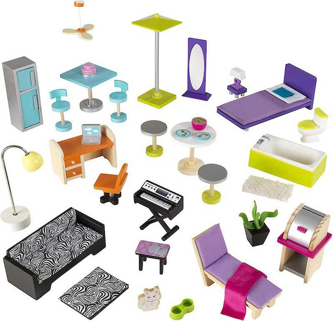 KidKraft Uptown Dollhouse - FREE DELIVERY - Pre-orders accepted now for late June delivery image 6