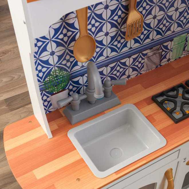 KidKraft Mosaic Magnetic Kitchen - Free NZ Delivery - Pre-order now from our shipment due early May image 10