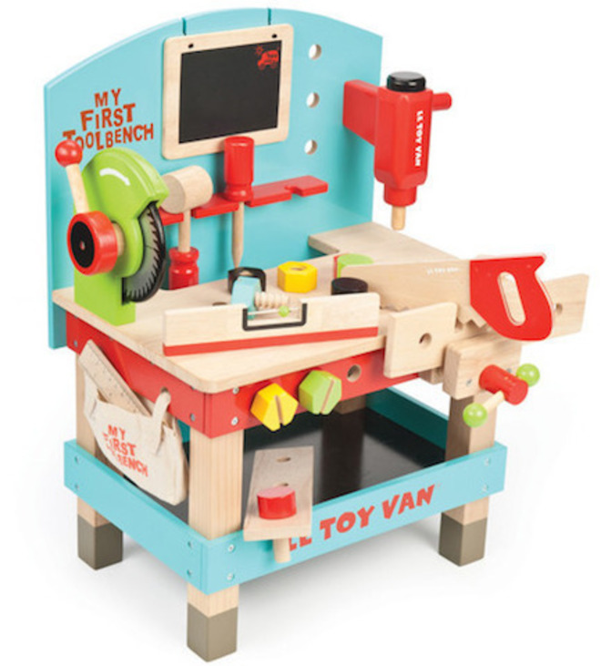 Le Toy Van My First Tool Bench - FREE DELIVERY image 0