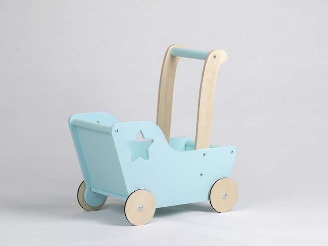 Moover Line Star Pram Aqua - Dispatched from NZ supplier in 1 - 2 days time image 0