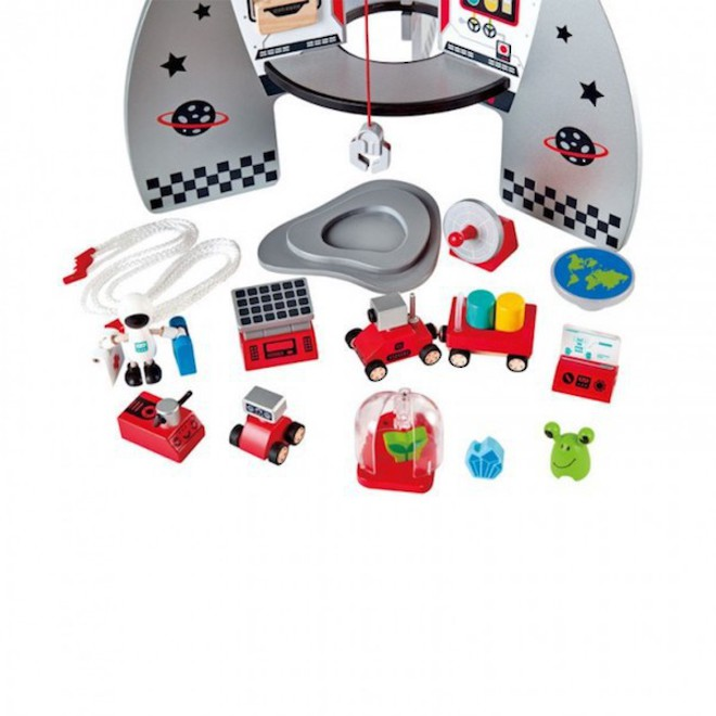 Hape Four Stage Rocket Ship - FREE DELIVERY image 2
