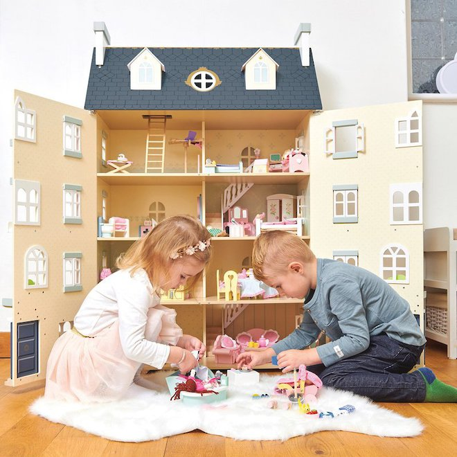 Le Toy Van Palace Doll House - FREE DELIVERY image 7