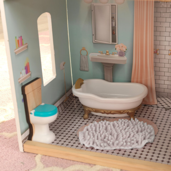 Kidkraft Charlotte Dollhouse - FREE DELIVERY - Pre-order now from our next shipment due here 23rd September image 9