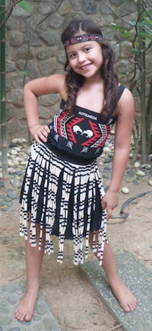 Maori Girl Costume medium image 2
