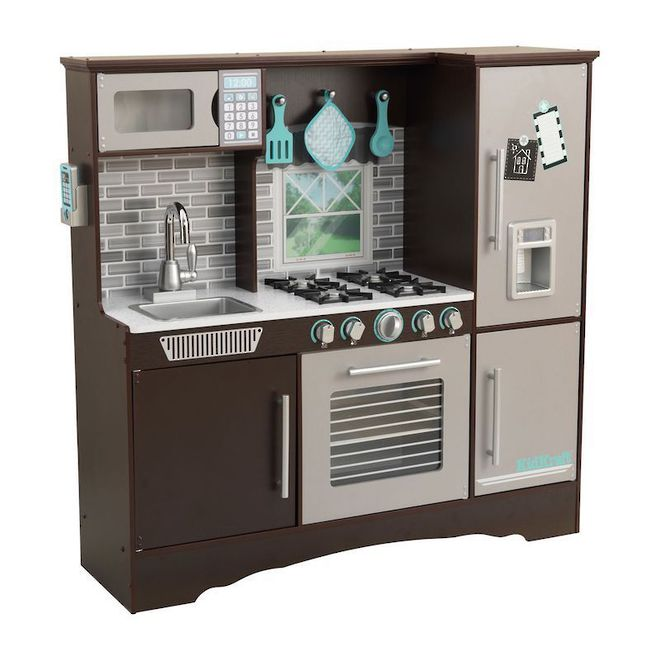 KidKraft Culinary Play Kitchen Espresso - FREE DELIVERY image 0