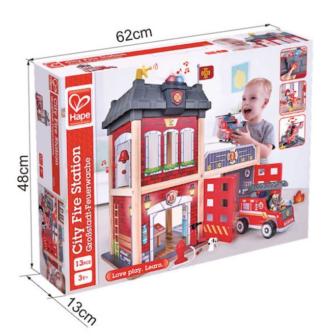 Hape City Fire Station - FREE DELIVERY image 4